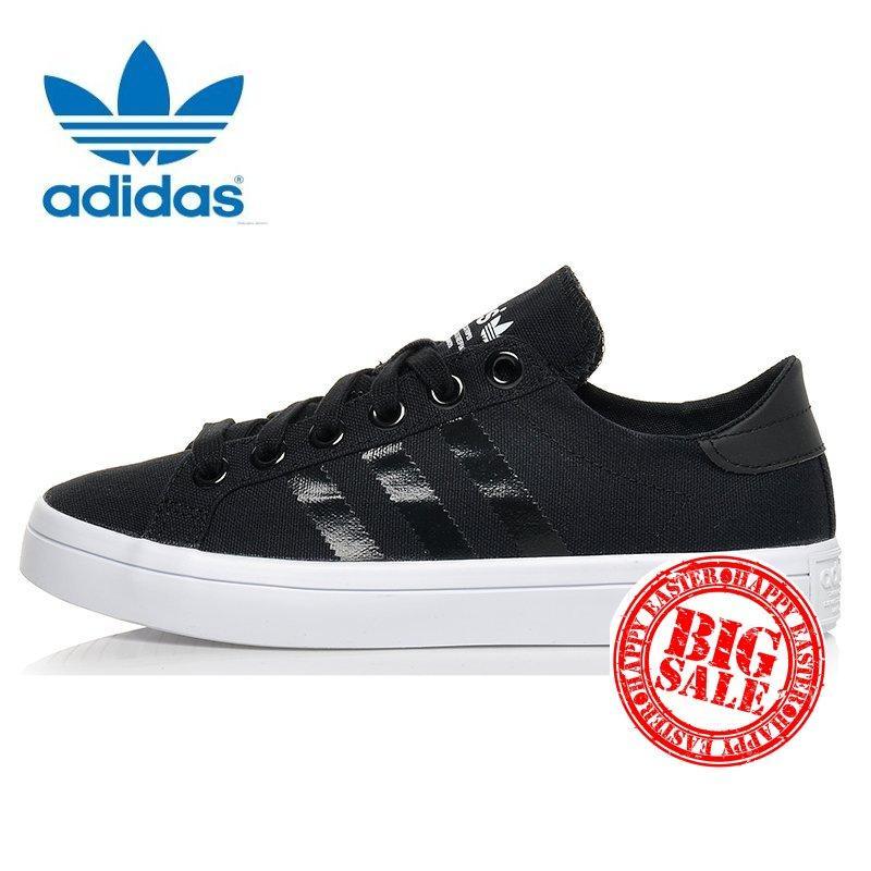 big sale 79814 bb2d4 Adidas Unisex Originals Court vantage S78766 (BlackBlack) Casual shoes