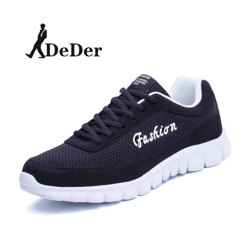 Best Buy Deder Men Outdoor Sport Jogging Running Shoes Sneakers Casual Mesh Breathable Trainers Flat Shoes Intl