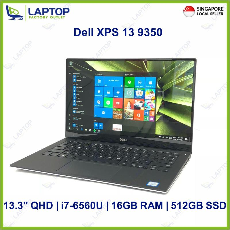 Dell XPS 13 9350 Touch Screen (i7-6560U/16GB/512GB SSD) @Light Original Warranty Deal Clearance@ Preowned [Refurbished]