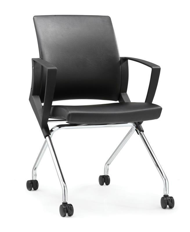 UMD PU Leather Foldable Chair Conference Room Chair Training Chair Office Chair K510 Singapore