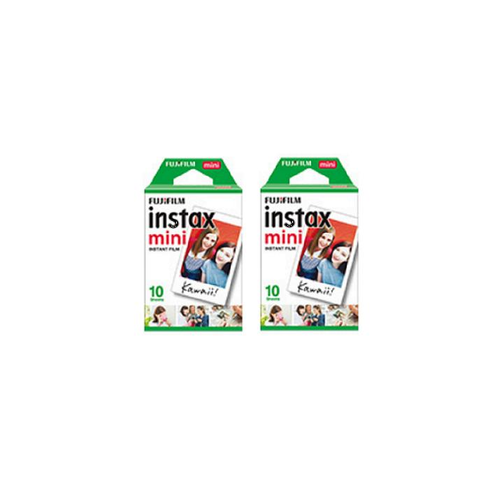 Best Price 40 Sheets Fujifilm Instax Mini Twin Film 2 Twin Pack