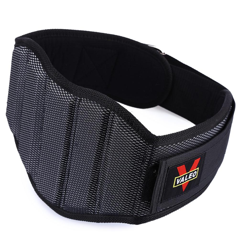 Discount Minicar Valeo Sponge Nylon Weight Lifting Squat Belt Protect Lumbar Back Waist For Fitness Training Black Size M Color Black Intl Oem