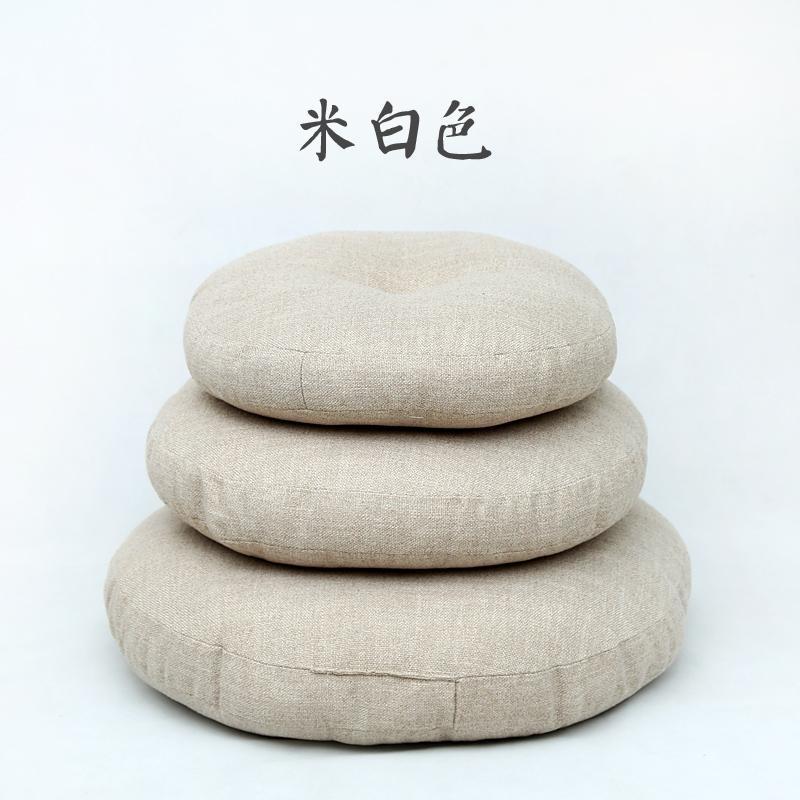 Meditation fabric Japanese round Bay tatami mat seat throw pillow