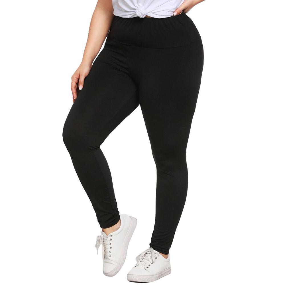 64b99b931d Fashion Plus Size Womens Sexy Leggings Trousers Yoga Sport Hole Casual  Pants Lucinashop