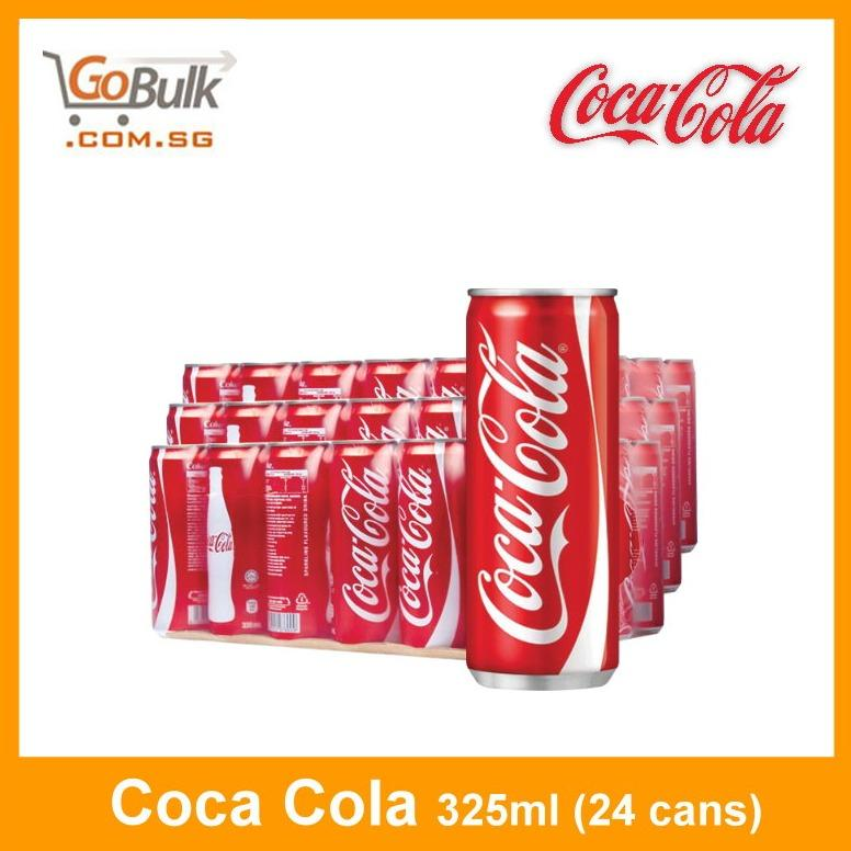 Sg Stock Coca Cola 325Ml 24 Cans Free Shipping