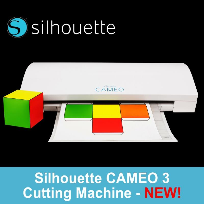 Silhouette Cameo 3 Vinyl Cutter For Home Sch**l Car T Shirt Transfer Hobby Craft Etc Lower Price