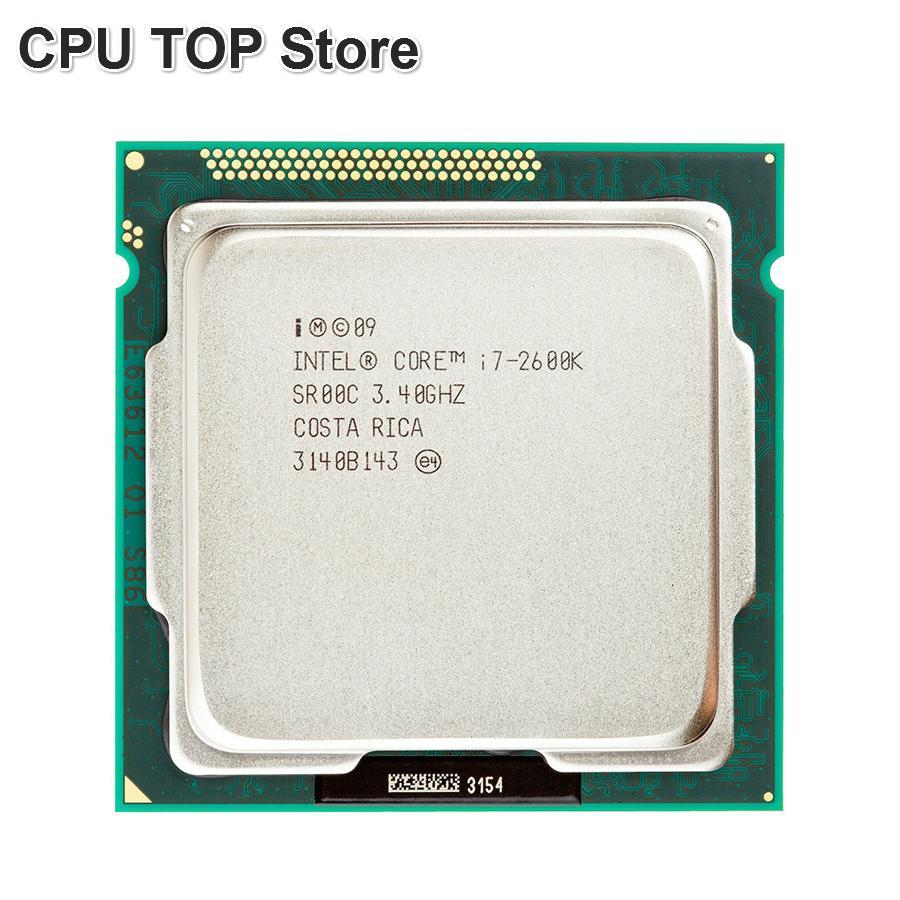Intel Core I7 2600 K 3.4 GHz SR00C Quad-Core LGA 1155 CPU I7-2600K Prosesor-Intl