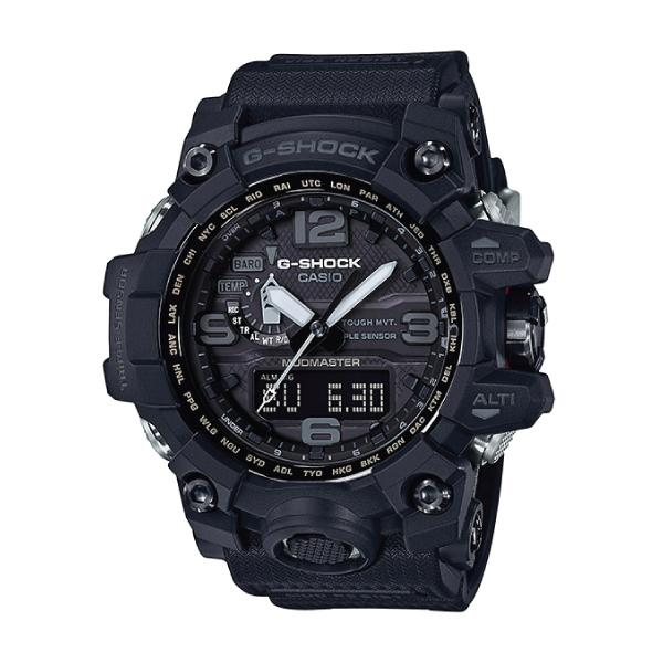 [100% Original G SHOCK]Casio G-Shock Master of G Series Mudmaster Black Resin Strap Watch GWG1000-1A1 GWG-1000-1A1 (watch for man / jam tangan lelaki / casio watch for men / casio watch / men watch / watch for men) Malaysia