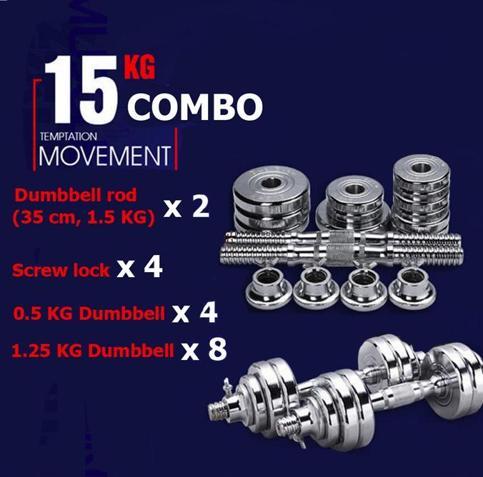 Who Sells Free 11Cm Pure Steel Extender Bar Pure Steel Dumbbell Combo Anti Rust No Bad Smell Good Quality Two Types Of Combo 15Kg Cheap