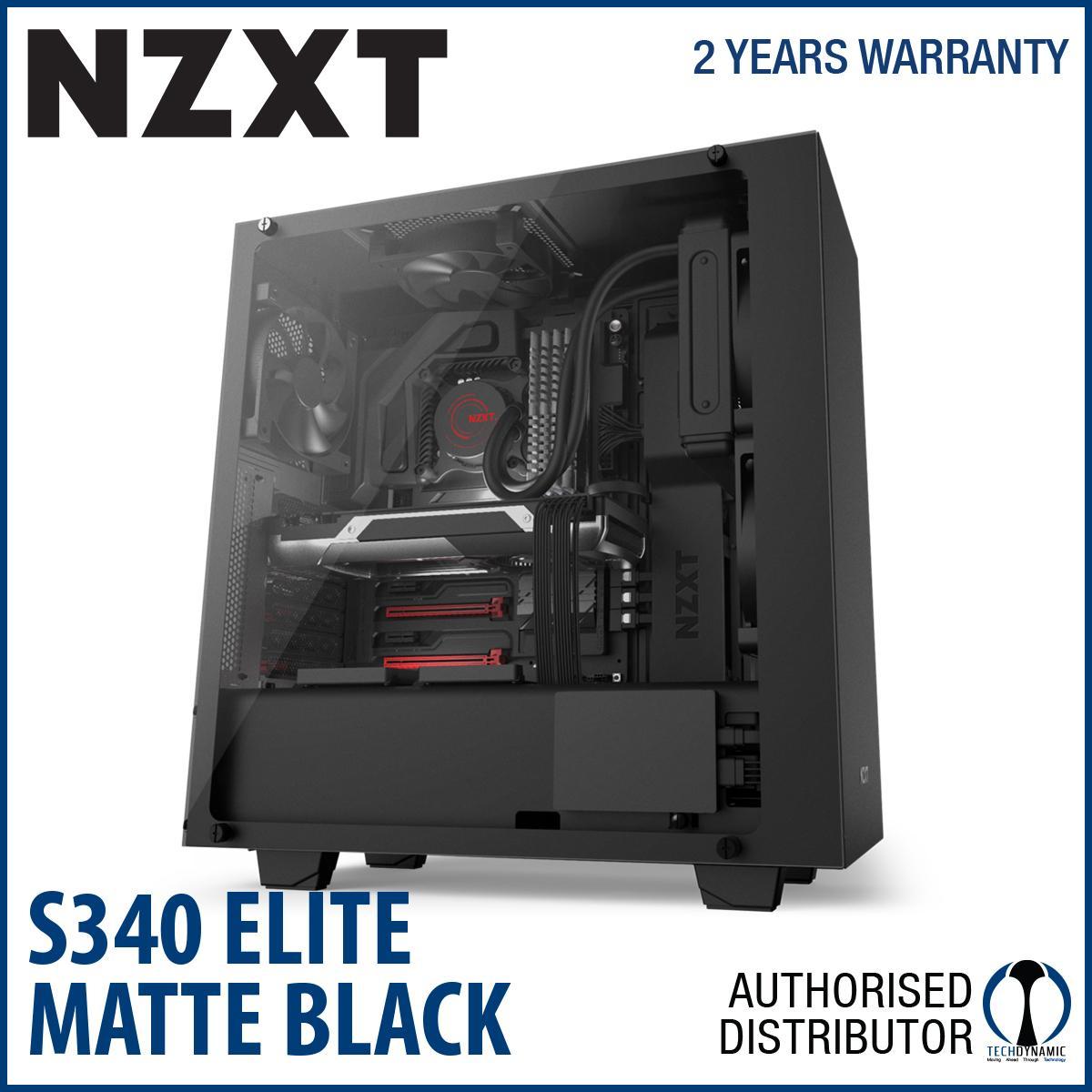 Nzxt S340 Elite Matt Black Lowest Price