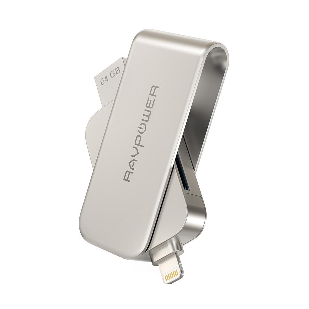 Ravpower 64Gb Lightning Flash Drive With Sd Card Reader Rp Im004 Reviews