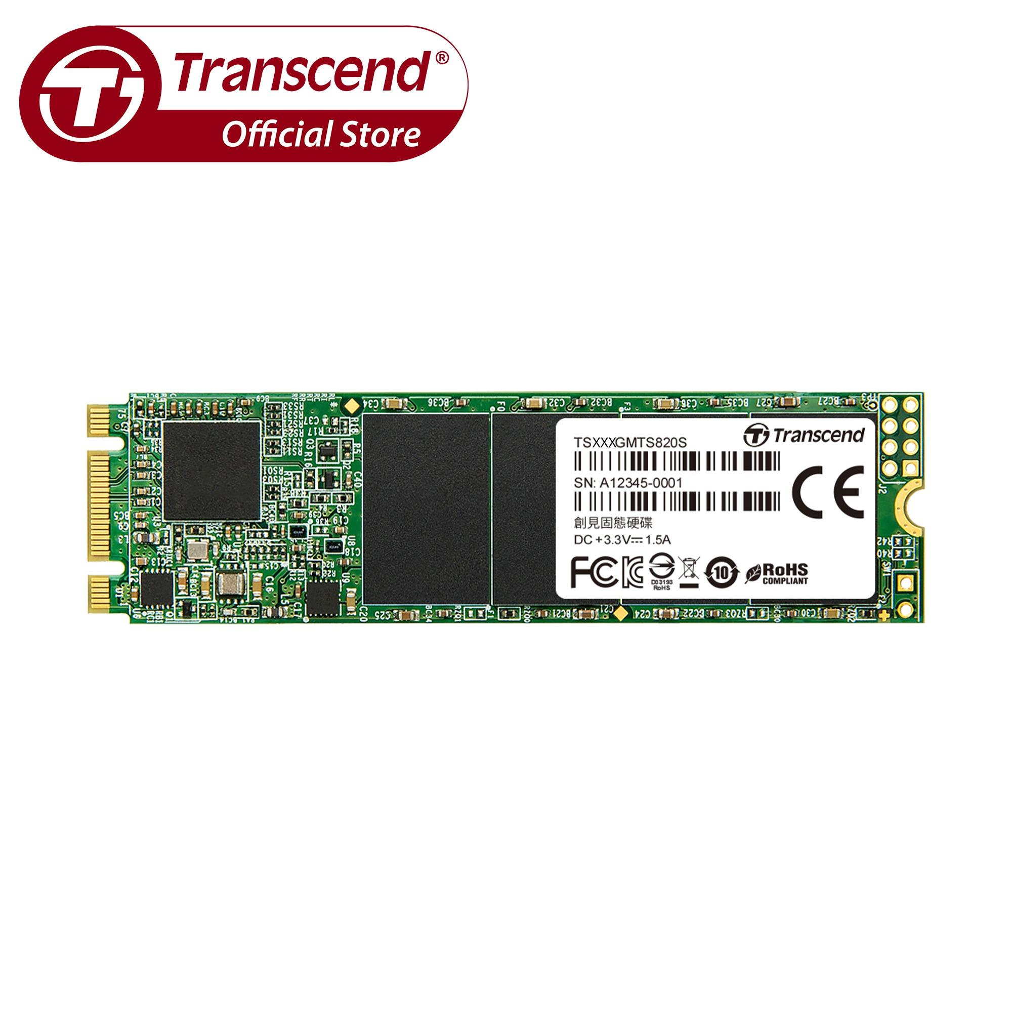 Buy Transcend Mts820 Sata Iii 6Gb S M 2 2280 Ssd Singapore