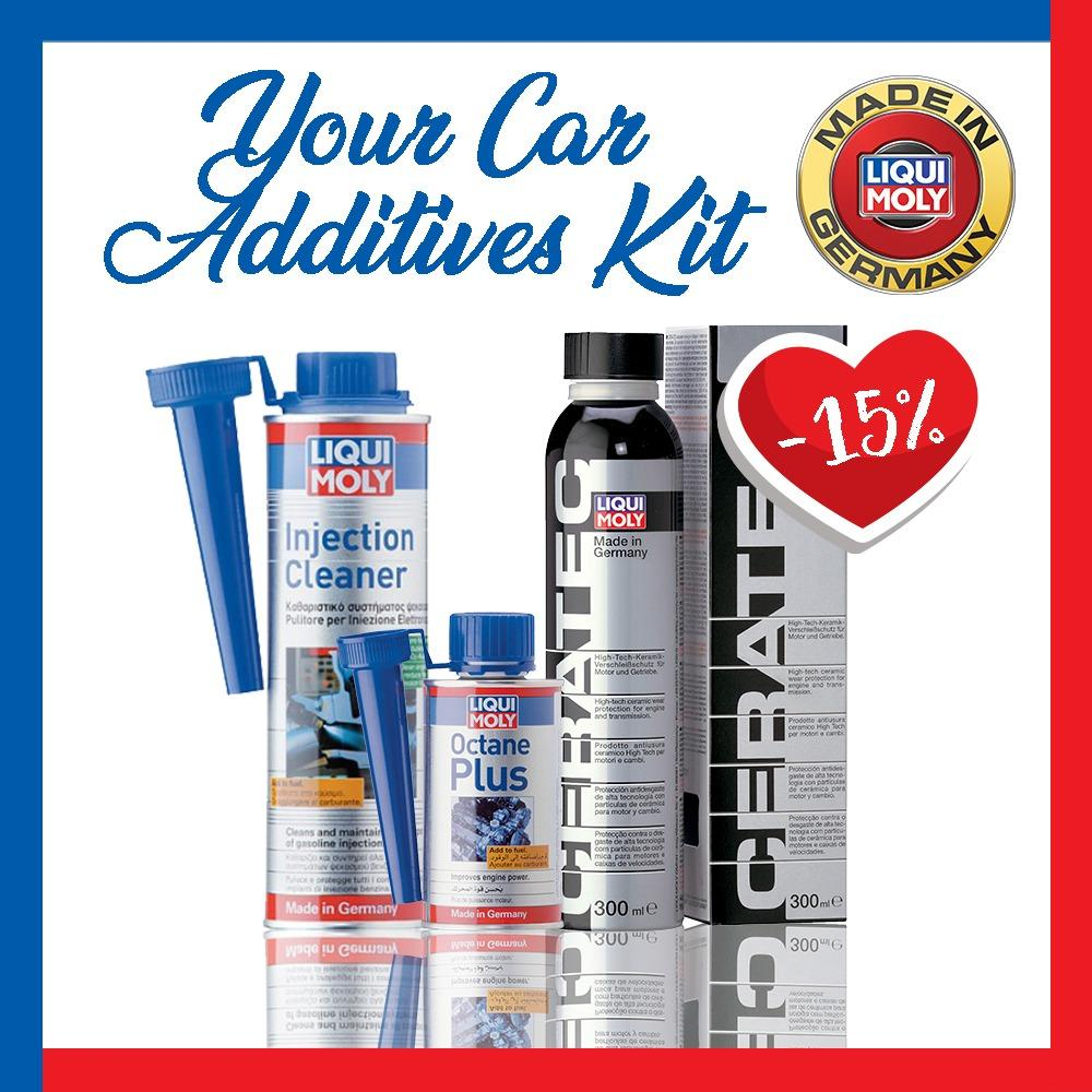 Lowest Price Liqui Moly Car Additives Kit
