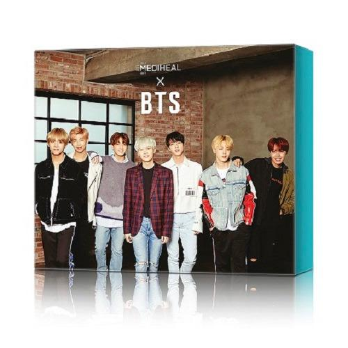 Price Mediheal X Bts Soothing Care Special Face Mask Set 10Pc Online Singapore