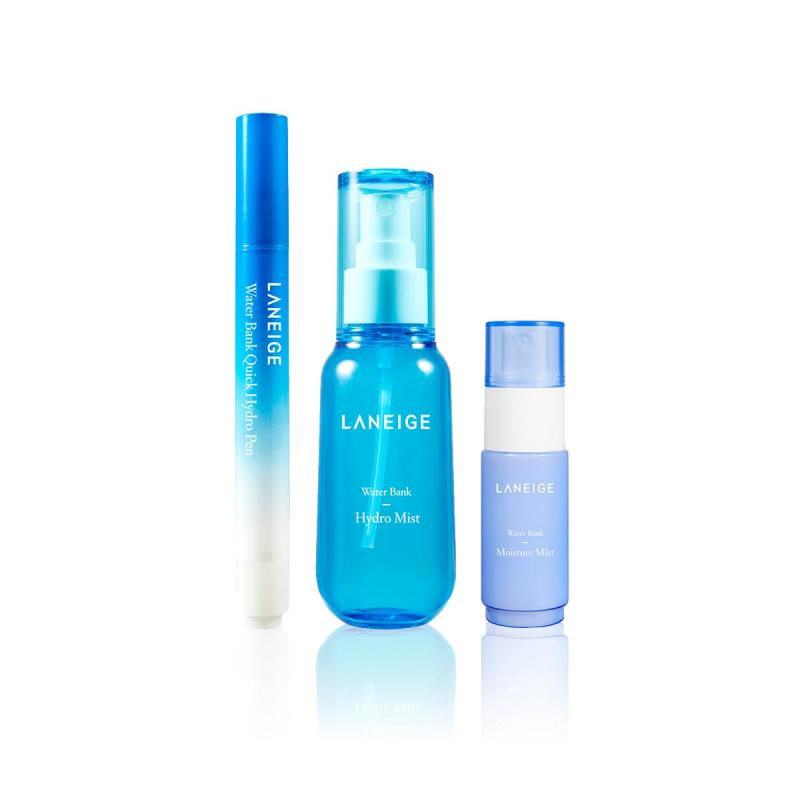 Buy [LAUNCH EXCLUSIVE SET] LANEIGE Water Bank Hydro Mist 70ml + Hydro Pen 4ml MAY18 Singapore