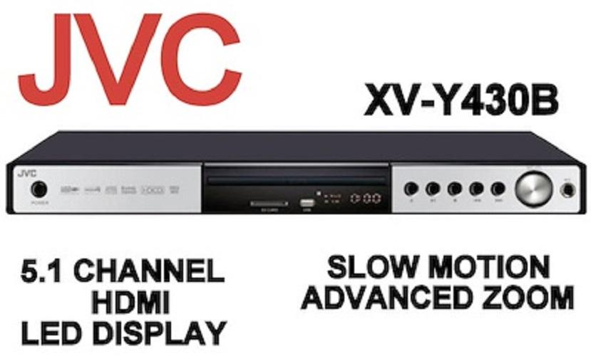 JVC 5.1 HDMI DVD PLAYER+USB XV-Y430B