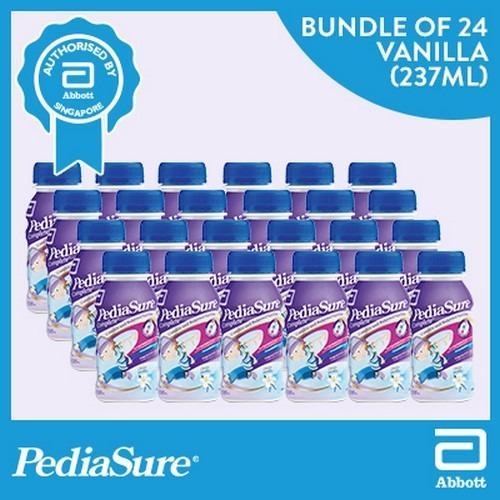Compare Price Pediasure Triple Sure Liquid Vanilla 24X237Ml On Singapore