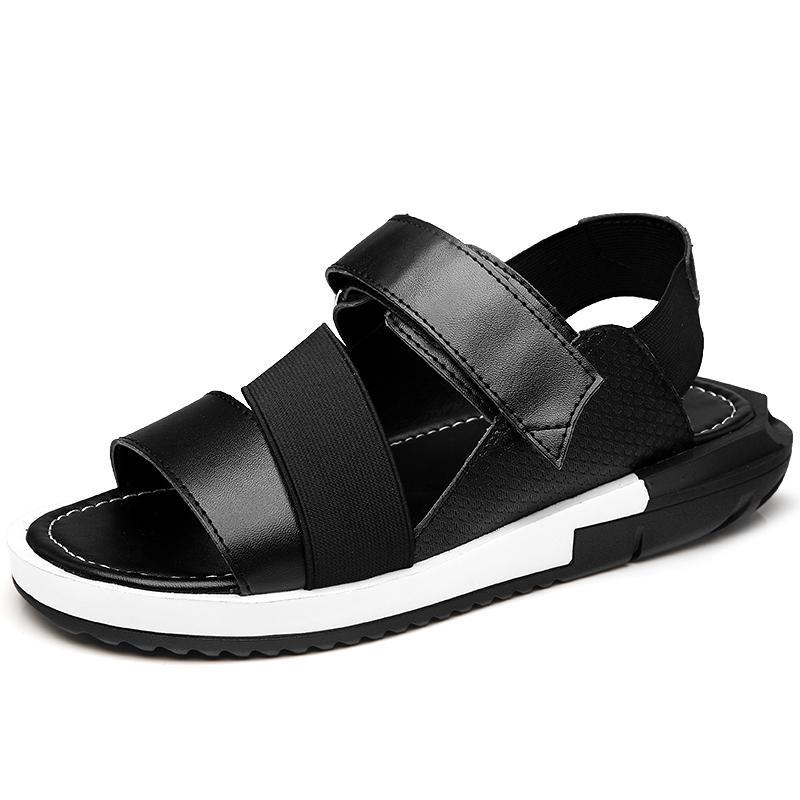 Kailijie Sandal Bakiak Pria Elastis Tali Sandal Sepatu Pantai-Internasional