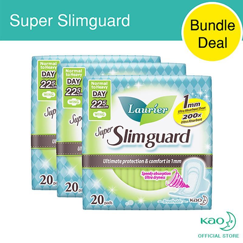 List Price Laurier Super Slimguard Day 22 5Cm 20Pcs Triple Pack Laurier