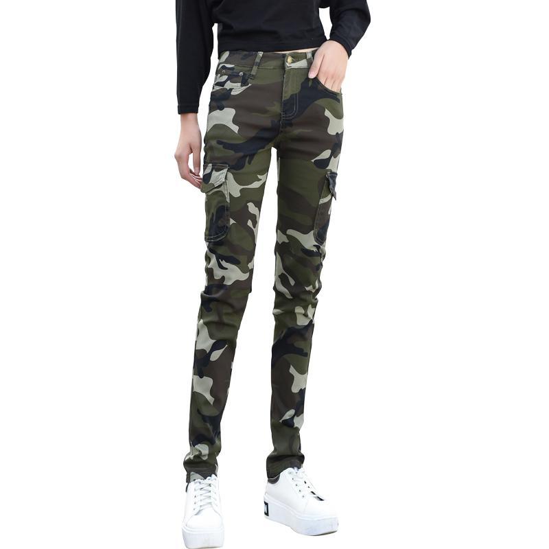 Gaya Chic Diperpanjang Celana Army Wanita Musim Panas Yang Tinggi 170 Diatas Versi Korea Netral Di