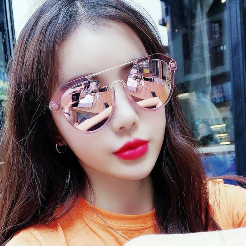 Apparel Accessories Women's Glasses New Europe And The United States Retro Trend Rivets Womens Sunglasses Wild Oval Men And Women Sunglasses