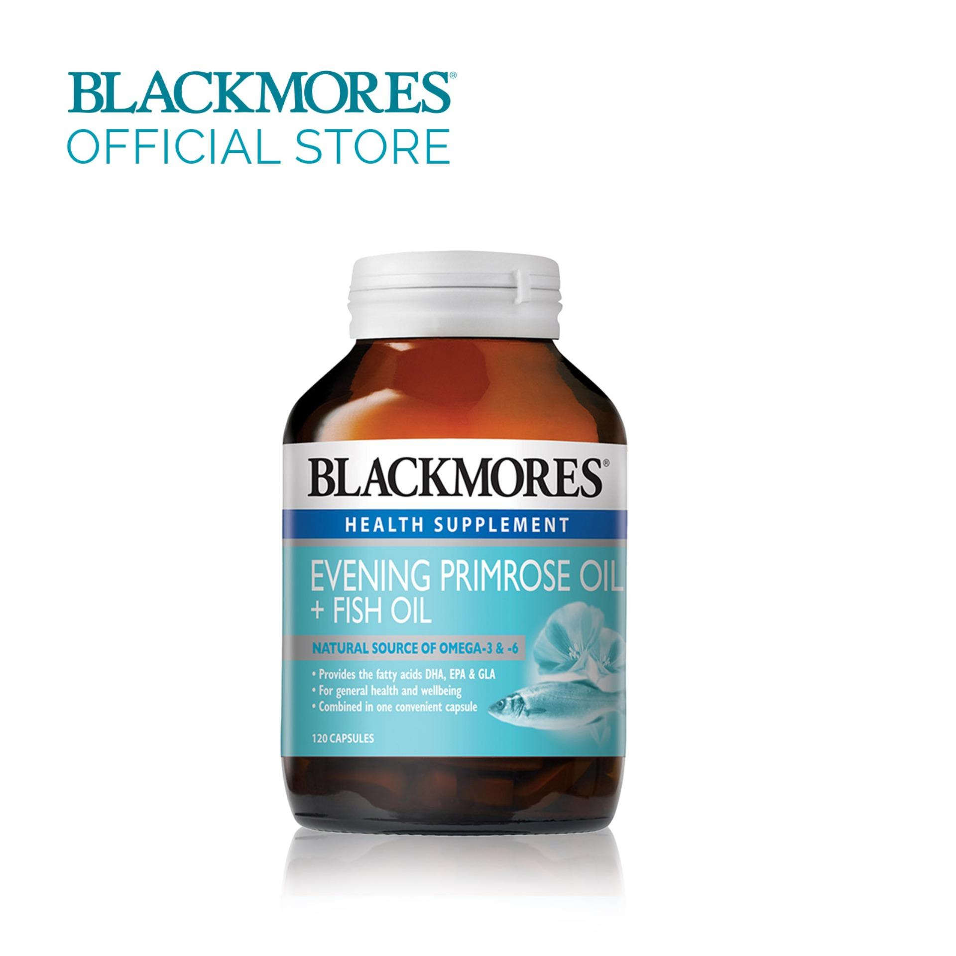 Review Blackmores Evening Primrose Oil Fish Oil 120Caps Singapore
