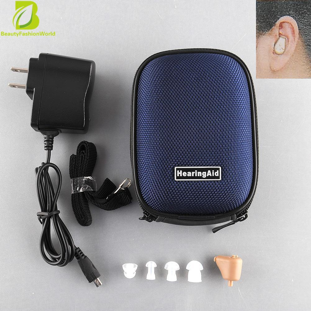 Where Can I Buy Fabulous Rechargeable Digital Mini In Ear Hearing Aid Adjustable Amplifier Box Case Intl