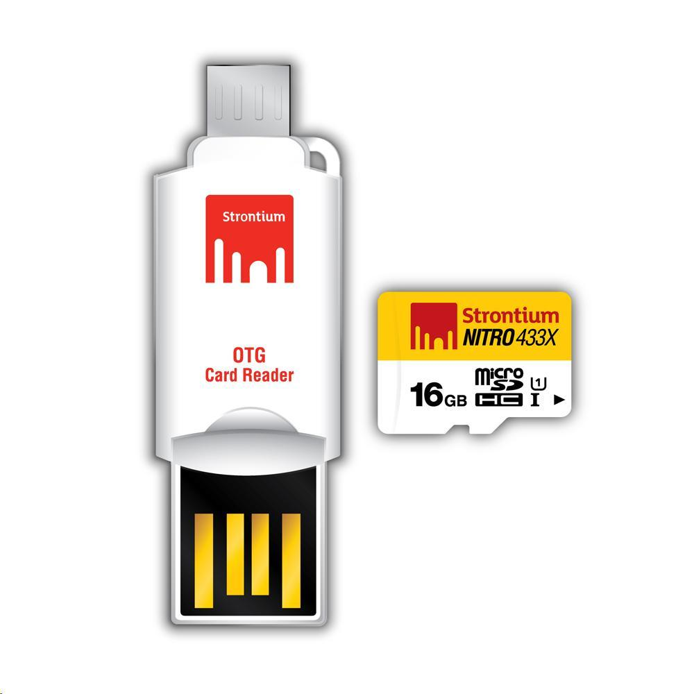 Cheapest Strontium Nitro Micro Sd 16Gb With Otg Card Reader