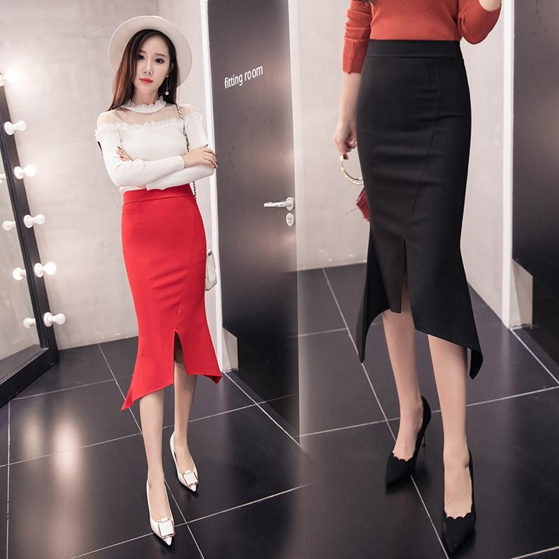 Where Can You Buy Pencil Bodycon Skirts 2017 New Plus Size Ladies S*xy Shirt