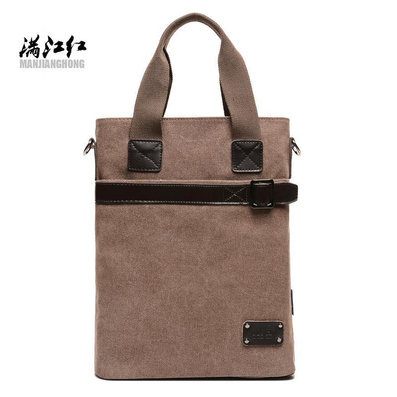 bd329b72e0 Handsome gentry gentry business man BAG canvas bag - intl