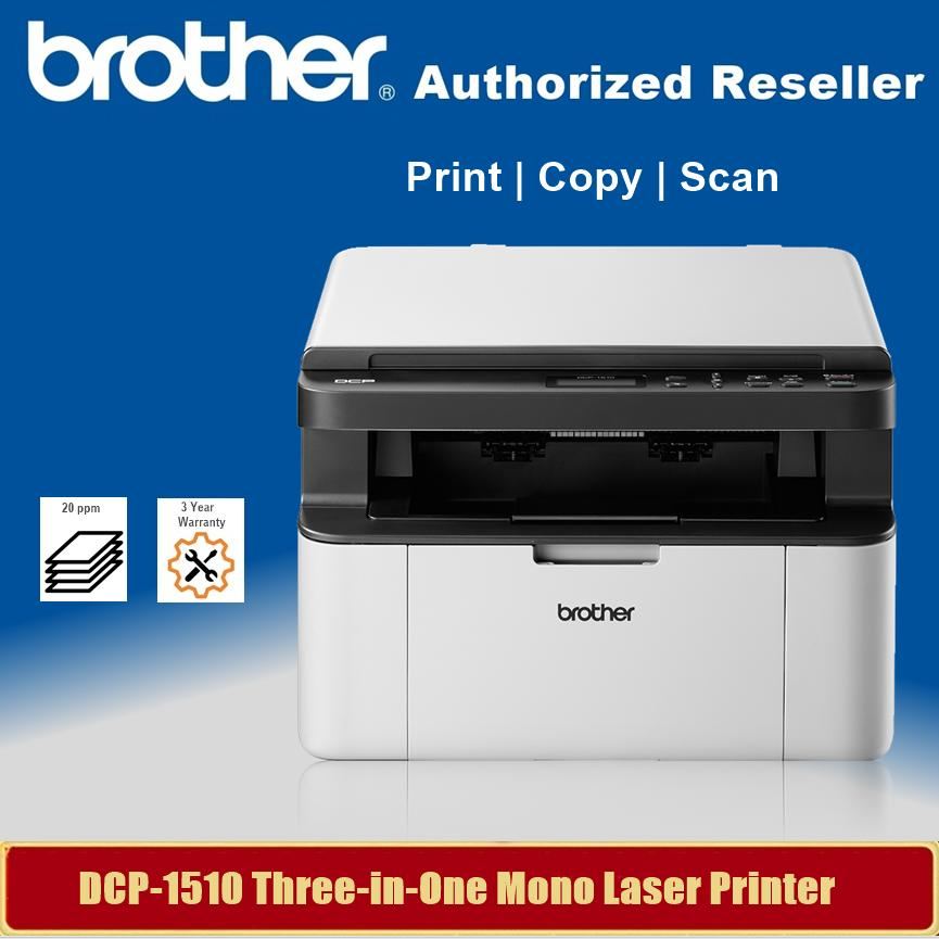 Kendte Brother DCP-1510 Home Multi-function Monochrome Laser Printer LE-92