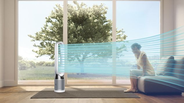 Dyson Pure Cool cools you in the summer