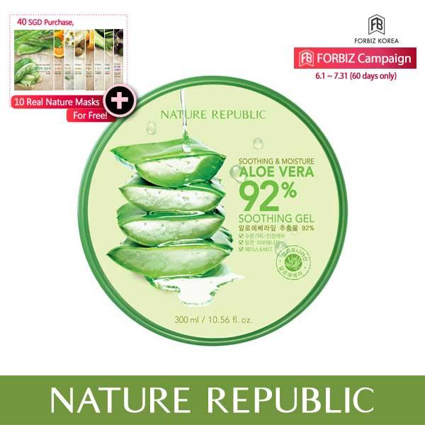 Buy Nature Republic Soothing And Moisture Aloe Vera 92 Soothing Gel Nature Republic Online