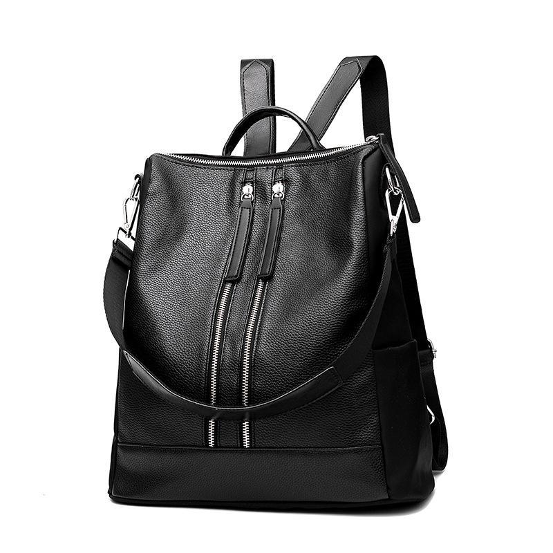 DJ8 shoulder bag woman bag Korean wild soft travel backpack Singapore
