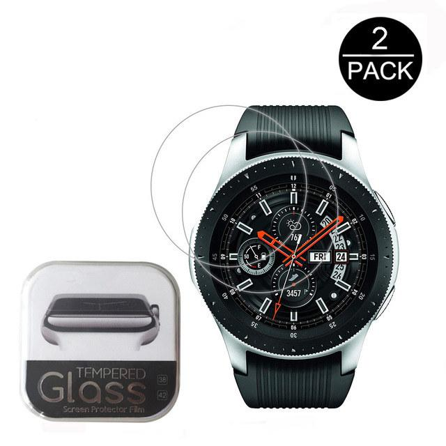 464f757a6 2pcs For Samsung Galaxy Watch 42mm Tempered Glass Screen Protector  Protective Film Guard Anti Explosion Anti