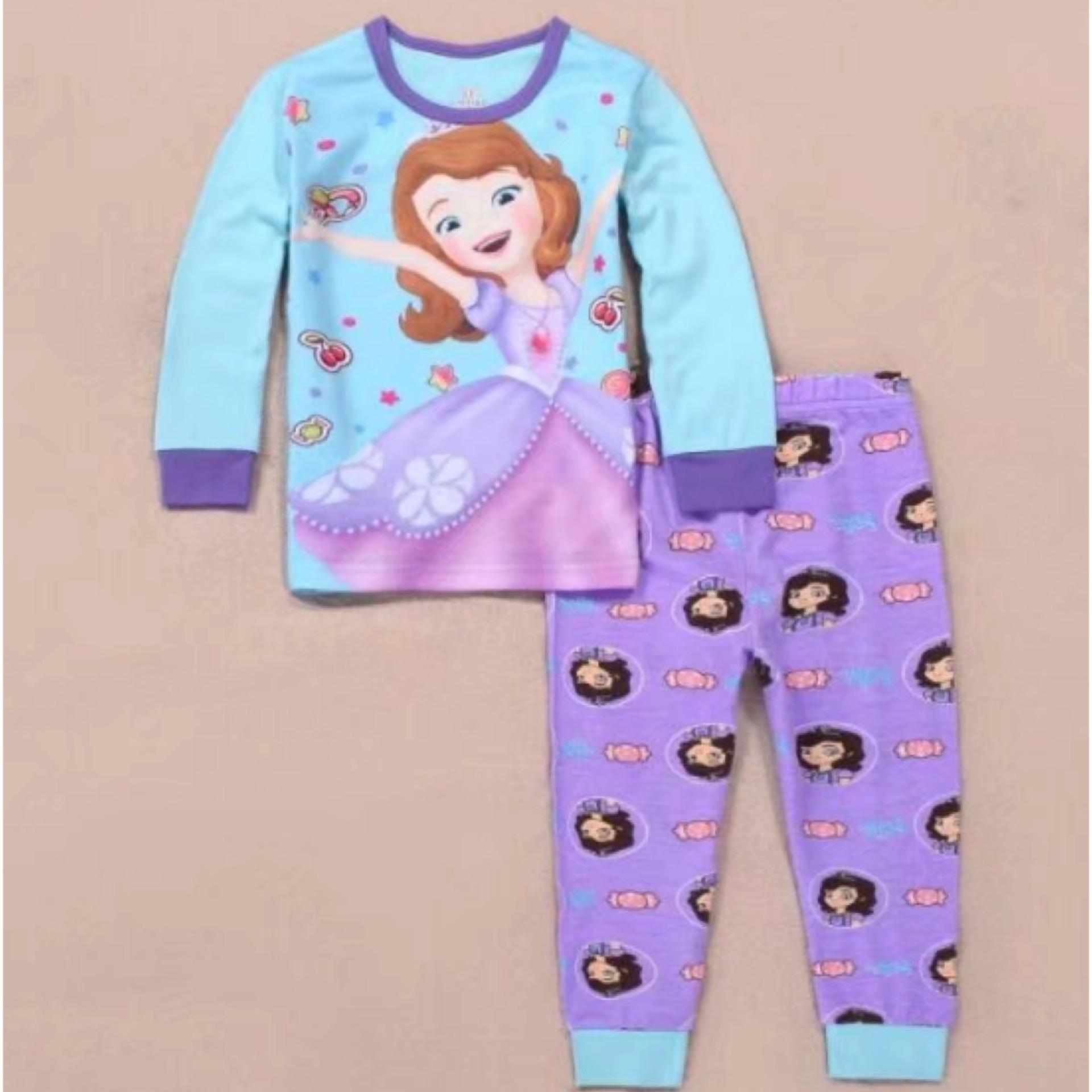 Price Comparison For Kids Clothes Sofia Paw Patrol Peppa Pig Pajamas Frozen Sleepwear Elsa Anna Princess Pajamas