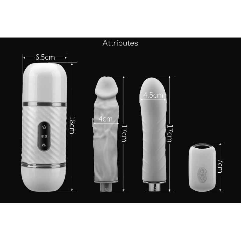 Cyclone Fire One  Plus One Special Pack Machine with two dildos