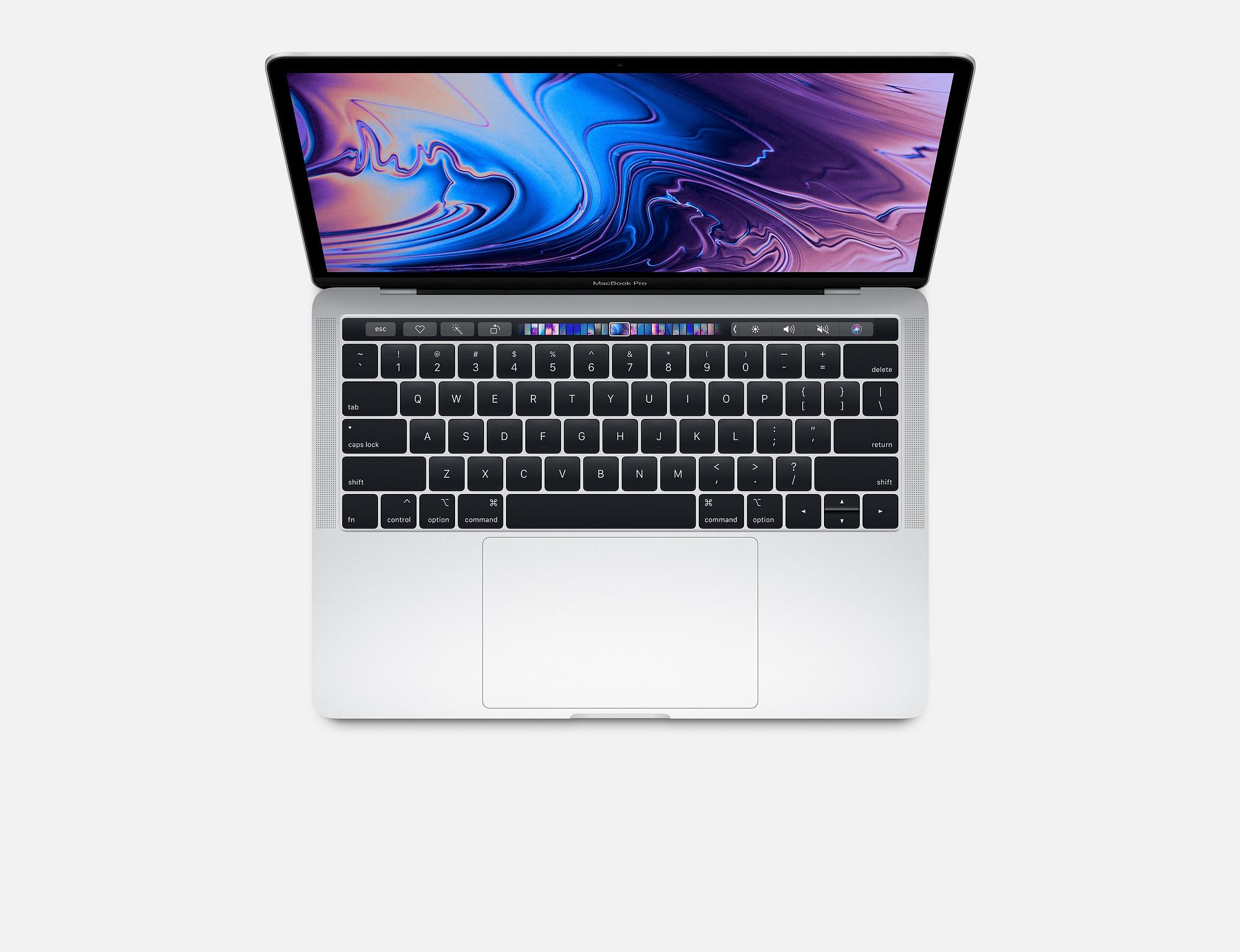 Apple MacBook Pro 13-inch with Touch Bar: 2.3GHz quad-core 8th-generation IntelCorei5, 256GB (2018)