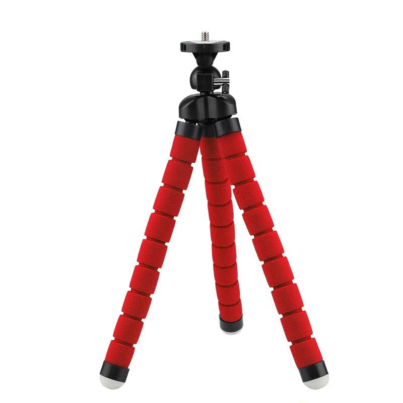 Portable Mini Flexible Tripod Octopus Stand Gorilla Pod For Goprocamera Slr Dv Medium Red Shop