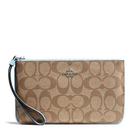 d55ac2a1cf85 ... where to buy coach f58695 large wristlet in signature 9d0bf 19dd6