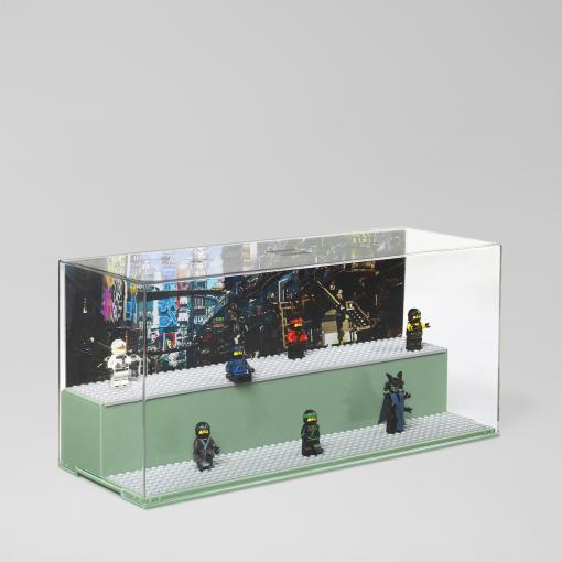 LEGO Ninjago Movie Display Case