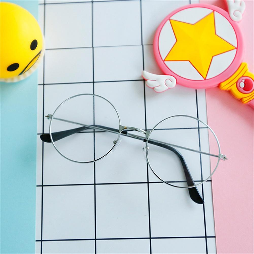 Wf Girls Fashion Vintage Round Circle Glasses Cute Metal Frame Eyewear Frame By Weidu Fashion.