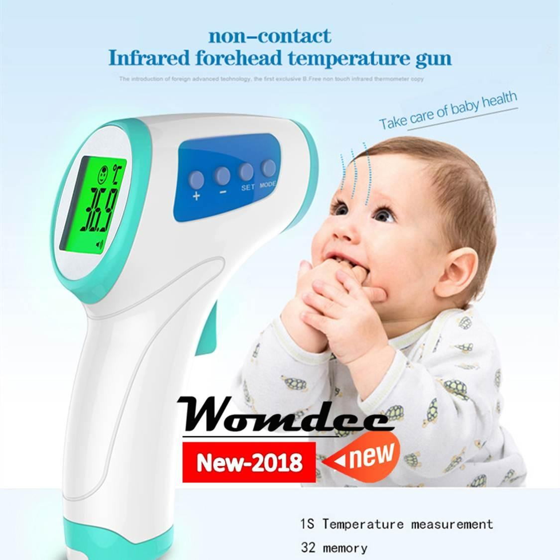 Buy Cheap Womdee Forehead Thermometer No Touch Infrared Thermometer For Body Animal And Surface Accurate Fever Digital Healththermometer Baby Thermometer Intey Intl