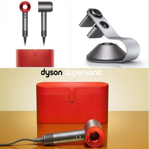 Sale Dyson Supersonic Hair Dryer Red With Casing And Stand On Singapore