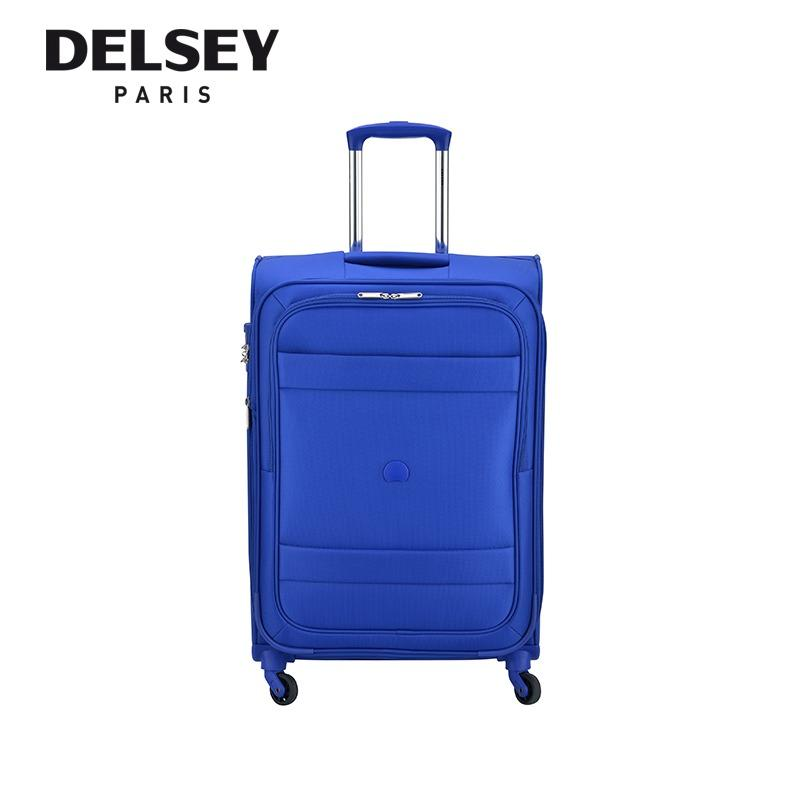 Price Comparisons Indiscrete 69Cm 4 Wheel Expandable Trolley Soft Case Red Blue New Arrival