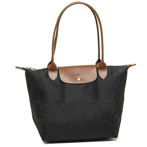 Longchamp Le Pliage 2605 Nylon Tote Small Black
