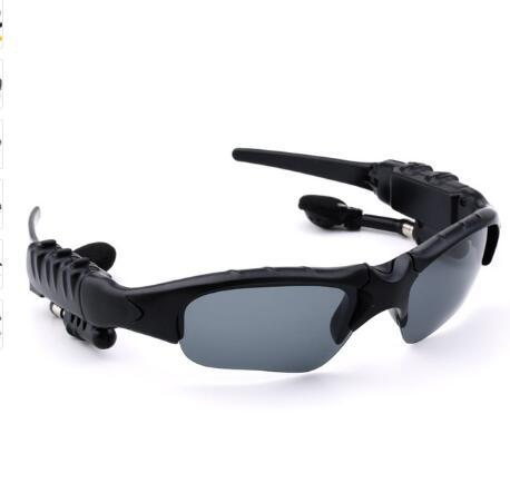 Sport Stereo BT4.0 Kacamata Bluetooth Kacamata Bt Tangan Outdoor MP3 Naik Nirkabel Kacamata Hitam