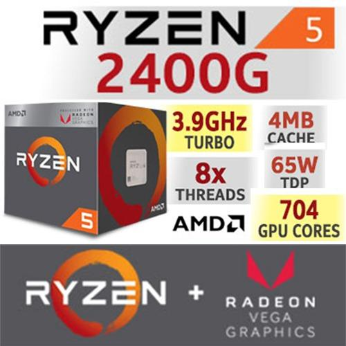 Get The Best Price For Amd Ryzen 5 2400G Quad Core 3 6 Ghz 3 9 Ghz Turbo Socket Am4 65W Yd2400C5Fbbox Desktop Processor With Radeon Rx Vega 11 Graphics