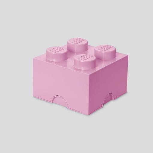 LEGO Storage Brick 4 (Light Pink)