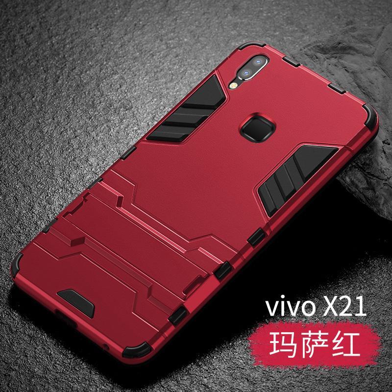 Plus Casing X21i Bungkus Penuh Anti Jatuh Hardcase X20/X9/Z1 Karakter Silikon Lunak